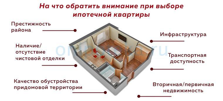 На что обратить внимание при выборе ипотечной квартиры